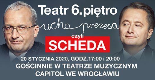 Ucho Prezesa czyli Scheda we Wrocawiu