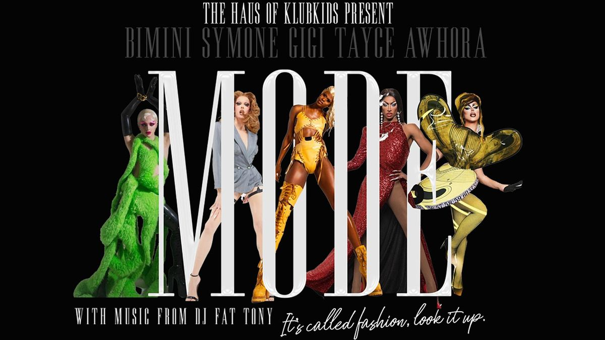 KLUB KIDS AMSTERDAM presents MODE featuring SYMONE/GIGI & more (all ages), 14 December | Event in Amsterdam