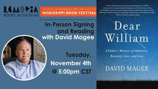 In-Person Signing + Reading | David Magee, 4 November | Event in Jackson | AllEvents.in