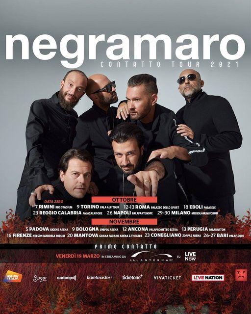 Negramaro live a Napoli   26 ottobre, 26 October   Event in Naples   AllEvents.in