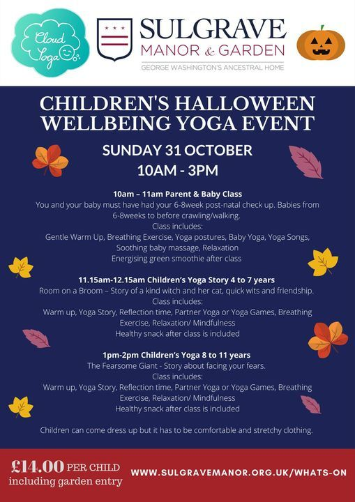Children's Halloween Wellbeing Yoga Event in partnership with Cloud Yoga, 31 October | Event in Banbury | AllEvents.in