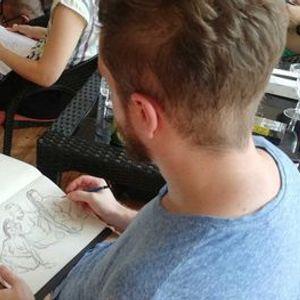 Nude Drawing Day  Barefeet Bangkok