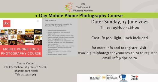 Mobile Phone Photography Course, 13 June | Event in Johannesburg | AllEvents.in