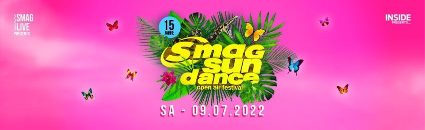 SMAG Sundance Open Air Festival 2022, 9 July | Event in Essen | AllEvents.in