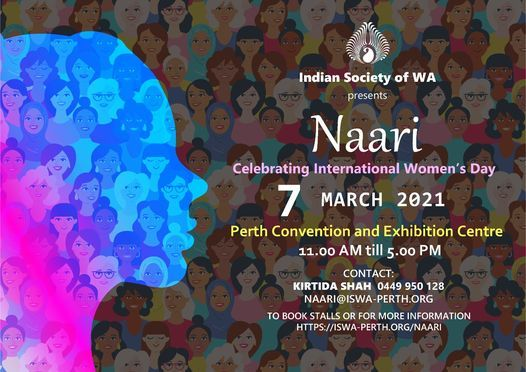 NAARI 2021, Celebrating International Women's Day, 7 March | Event in Perth | AllEvents.in