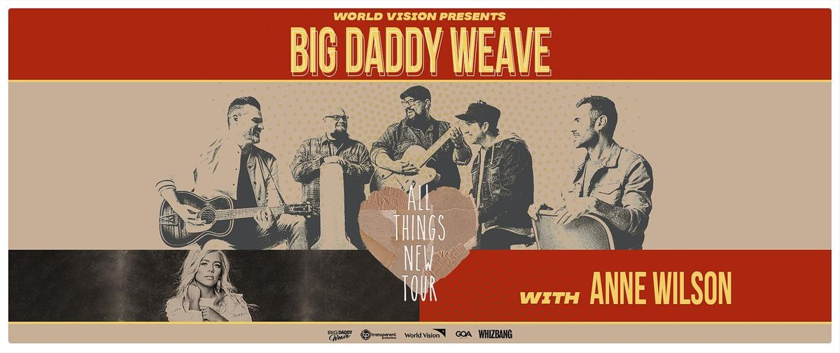 Big Daddy Weave - All Things New Tour, 20 October | Event in Elizabethtown | AllEvents.in