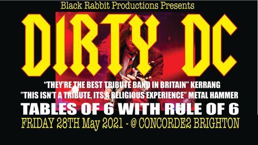 Dirty DC, 28 May | Event in Brighton | AllEvents.in