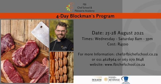 4-day Blockman's Workshop, 14 July   Event in Roodepoort   AllEvents.in