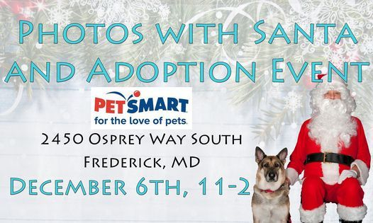 Photos with Santa & Adoption Event - Frederick, MD, 6 December   Event in Frederick   AllEvents.in