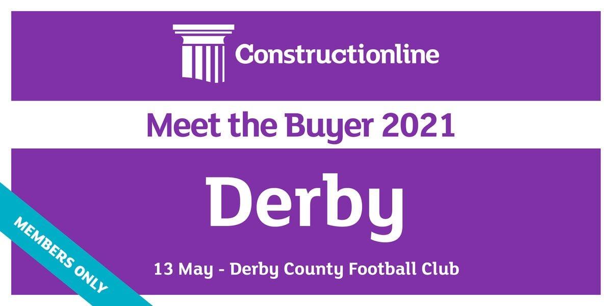 Derby Constructionline Meet the Buyer 2021