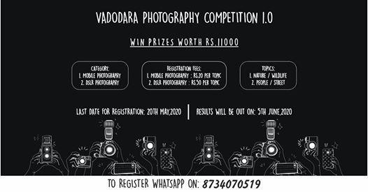 Vadodara photography competition 1.0