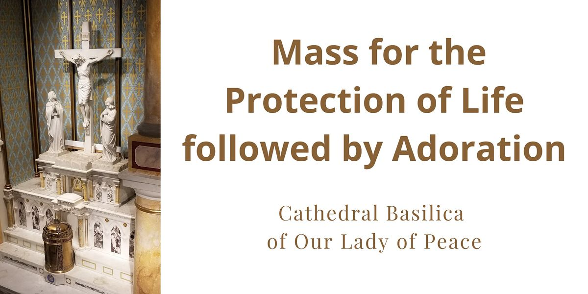 Mass for the Protection of Life followed by Adoration on January 21 | Event in Honolulu | AllEvents.in