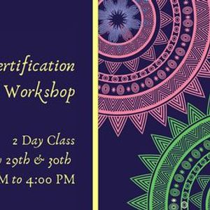Reiki Level 1 Certification Virtual  Workshop