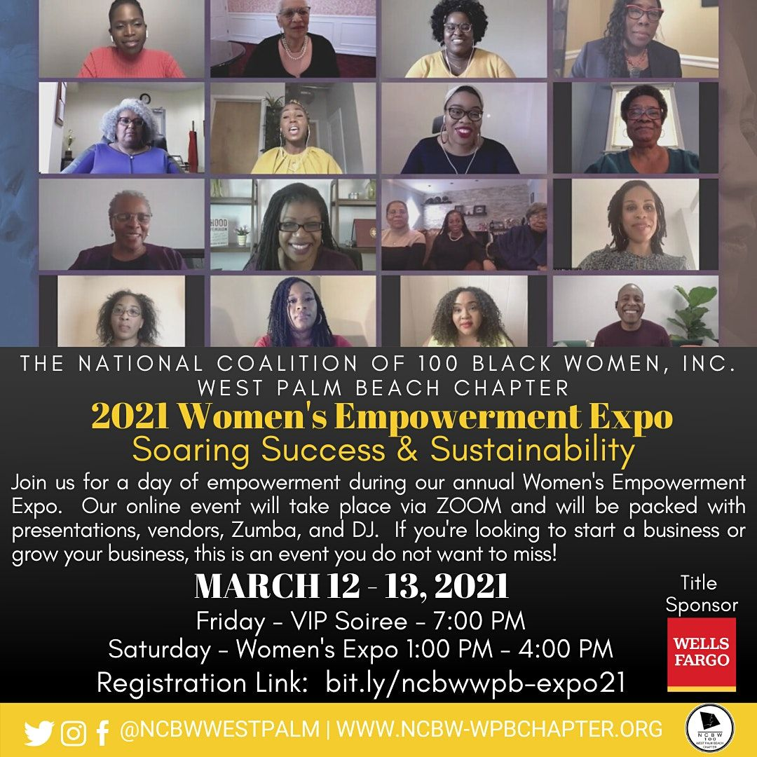 NCBW  Virtual Women's Empowerment Expo, 13 March | Online Event | AllEvents.in