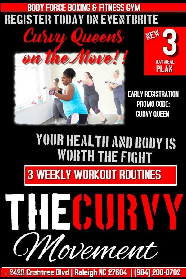 The CURVY Movement - 3 Day Boxing Bootcamp for Curvy Queens