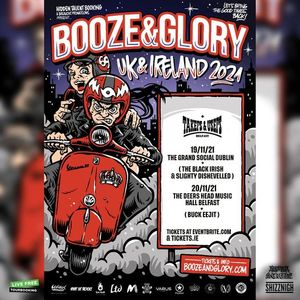 Booze & Glory at The Grand Social 191121 tickets on sale