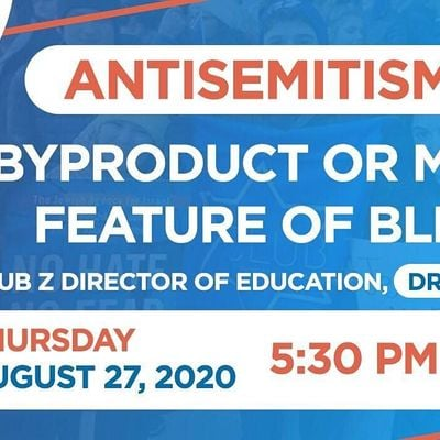 Antisemitism  A Byproduct or Major Feature of Black Lives Matter