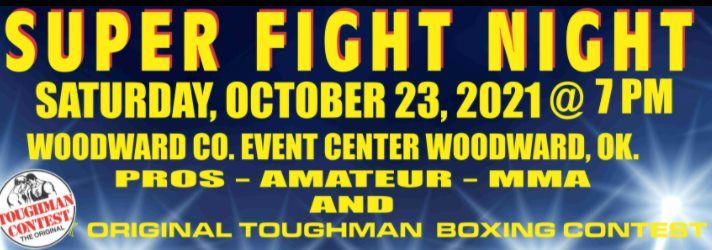 Super Fight Night, 23 October | Event in Woodward | AllEvents.in