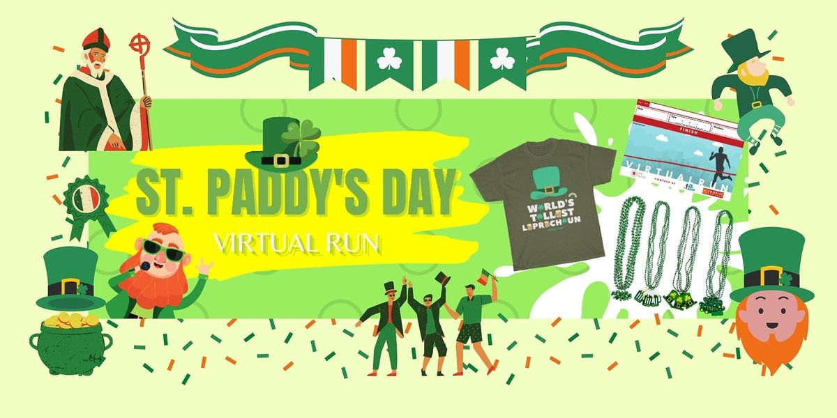 World Shamrock Shuffle Virtual Race, 28 August | Online Event | AllEvents.in