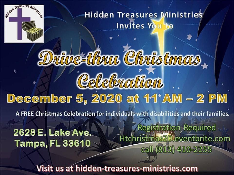 Lake Avenue Christmas 2020 Drive thru Christmas Celebration, 2628 E Lake Ave, Tampa, 5 December