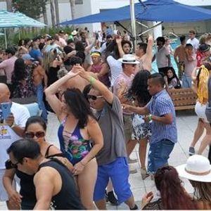 Marriott Hotel Salsa Pool Party