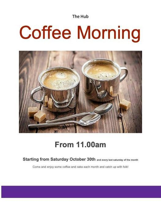 Coffee Morning, 30 October | Event in Inverness | AllEvents.in