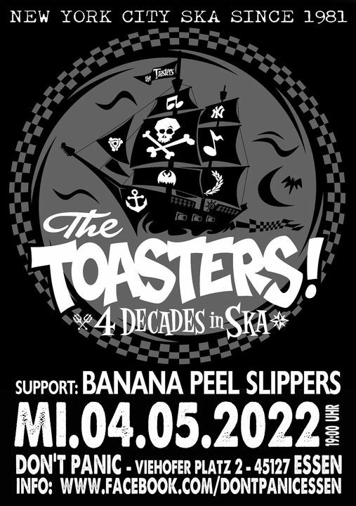 The Toasters + Banana Peel Slippers (Ska, Two Tone, Rocksteady), 4 May | Event in Essen | AllEvents.in