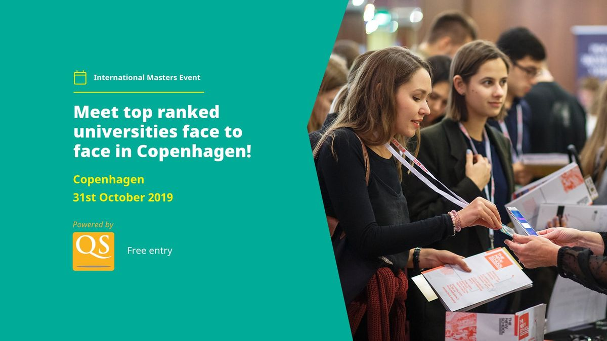 International Masters and PhD fair in Copenhagen