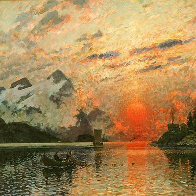 The Land of the Midnight Sun Norways Golden Age of Painting