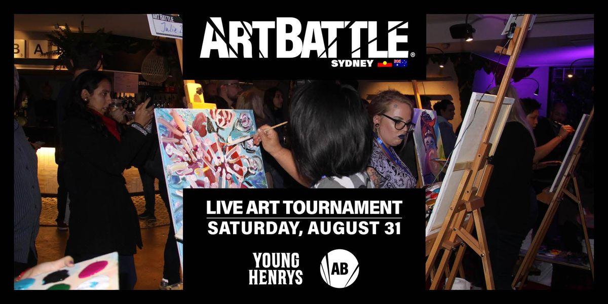 Art Battle Sydney - 31 August 2019