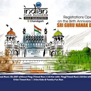 Indian Flag Runners Half Marathon - Chandigarh