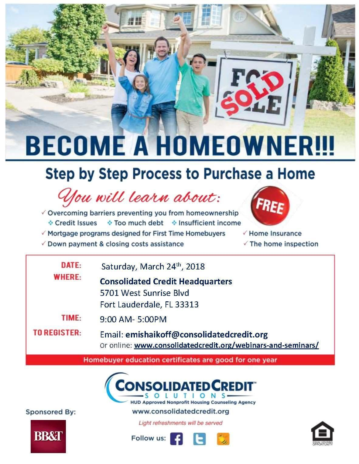 First Time Home Buyer 2020.First Time Homebuyer Workshop April 2020 At Consolidated