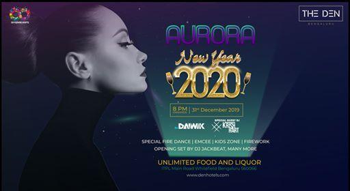 Aurora fireworks 2020