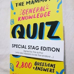 The Stag Inn Monday Night Quiz