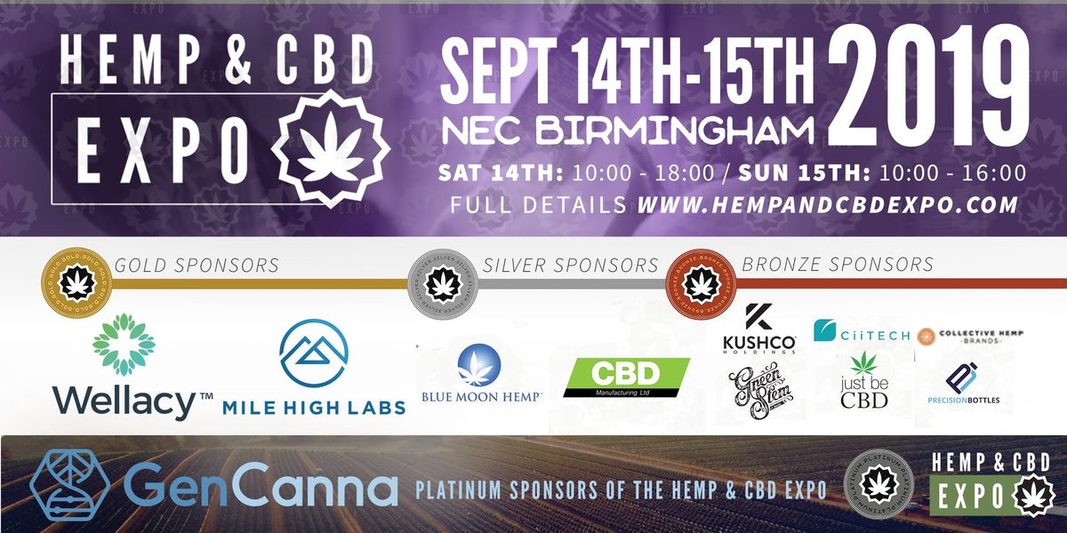 Hemp & CBD Expo (September 2019) At NEC, National