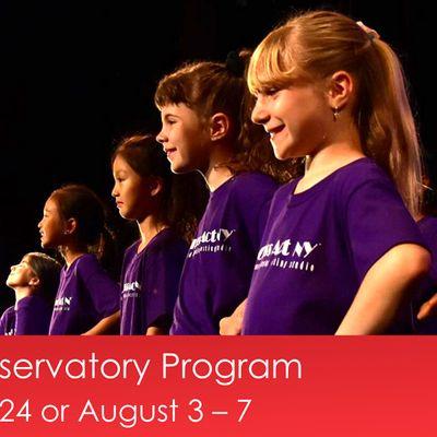 The Junior Conservatory Program