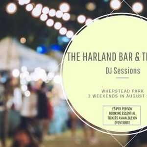 Harland bar & terrace DJ sessions 5 per person  booking fee