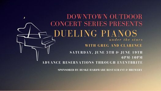 Downtown Outdoor Concert Series with DUELING PIANOS!, 19 June | Event in Fayetteville | AllEvents.in