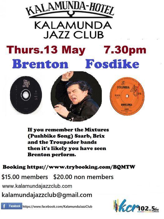 Brenton Fosdyke at the Kalamunda Jazz Club | Event in Baskerville | AllEvents.in