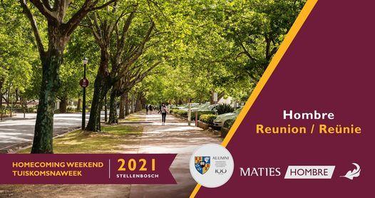 Hombré Reunion Postponement  | Hombré Tuiskoms Reünie Uitstel, 8 September | Event in Stellenbosch | AllEvents.in