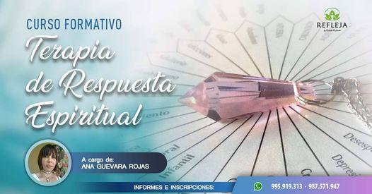 CURSO FORMATIVO: TERAPIA DE RESPUESTA ESPIRITUAL (TRE) Nivel 1- 13 de Febrero 2021 | Event in San Isidro | AllEvents.in