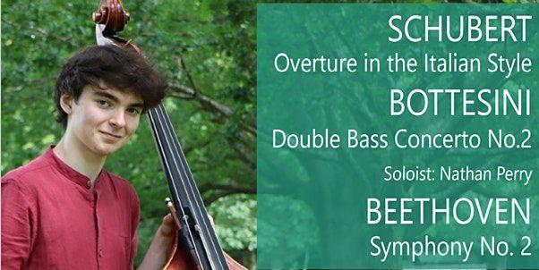 Dorking Chamber Orchestra Return Live with Beethoven Schubert & Bottesini, 9 October | Event in Dorking