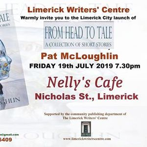 Book Launch From Head to Tale by Pat McLoughlin