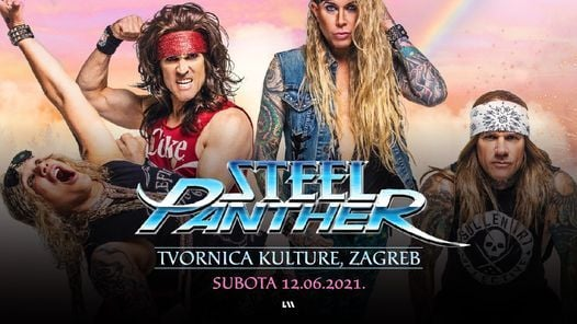 Steel Panther u Zagrebu !, 12 June | Event in Zagreb | AllEvents.in