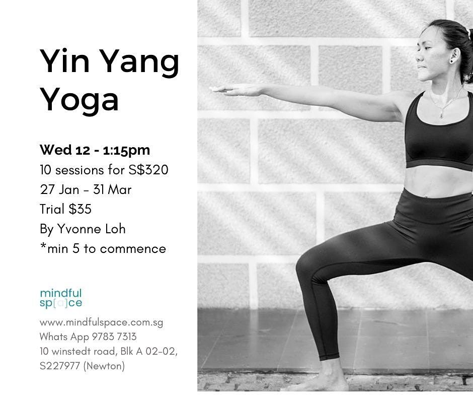 Yin Yang Yoga (Adult)   Event in Singapore   AllEvents.in