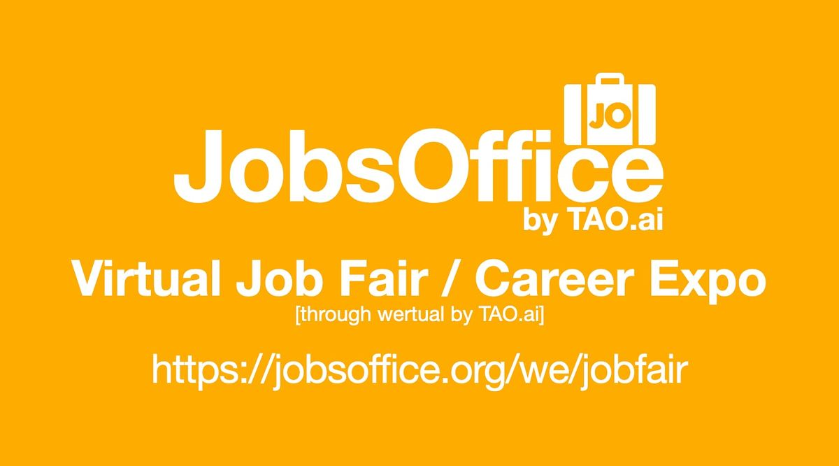 #JobsOffice Virtual Job Fair / Career Expo Event #Detroit | Event in Detroit | AllEvents.in
