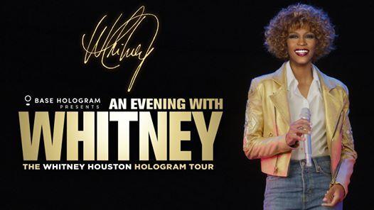 An Evening with Whitney - 23 marzo Milano Arcimboldi