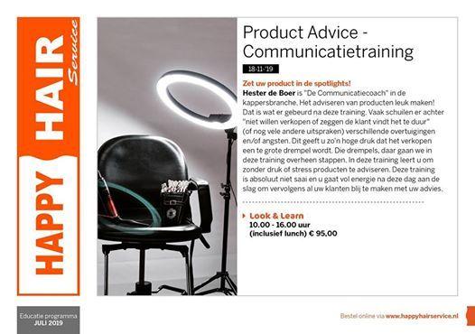 Product Advice bij Happy Hair Service