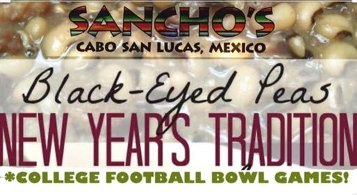 New Years Bowl Games 2020.New Year S Day Black Eyed Peas College Bowl Games At