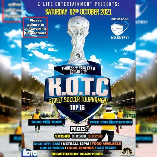 KOTC 2021, 2 October | Event in Rivonia | AllEvents.in